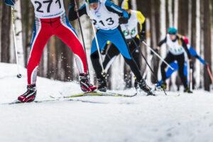 Tävling längdskidåkning